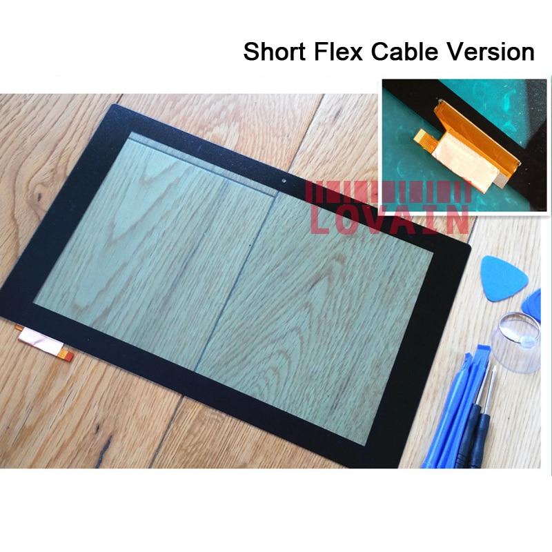 LOVAIN 10Pcs Black Original For Sony Xperia Z2 Tablet LTE Wi-Fi SGP521 SGP551 SGP511 SGP512 Digitizer Touch Screen Panel+Tools 10 1for sony xperia tablet z2 sgp511 sgp512 sgp521 sgp541 sgp551 sgp561 touch glass digitizer panel screen lcd display assembly