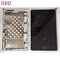 Used Parts LP101WH4 Full LCD Display Touch Screen Panel Digitizer Assembly With Frame For ACER Iconia