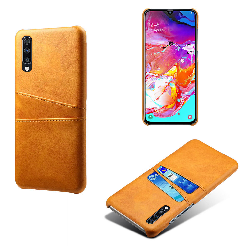 Hangrui Luxury PU Leather Case For Samsung Galaxy A50 2019 A30 A10 A20 A40 A70 Case Back Cover Credit Card Holder Slot Cover