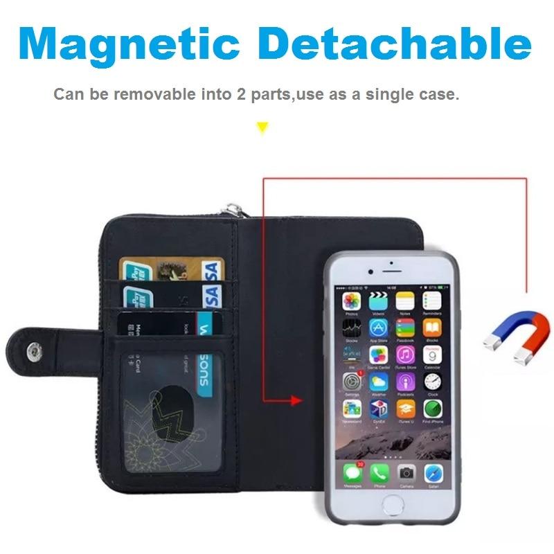 LANCASE Θήκες πορτοφολιών για θήκη iPhone 7 - Ανταλλακτικά και αξεσουάρ κινητών τηλεφώνων - Φωτογραφία 4