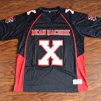 MM MASMIG Bill Goldberg Joey Schlacht Battaglio # X Bedeuten Maschine Fußball Jersey Genäht Schwarz S M L XL XXL XXXL