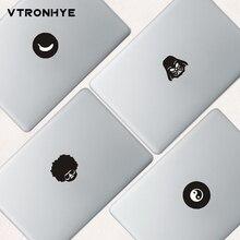Черная частичная наклейка s для Macbook New Pro Wild-curl up для ноутбука Macbook pro air retina 11 13 15 виниловая наклейка
