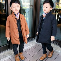 only winter coat 1pc new 2018 winter boys handsome fashion style thicken warm cotton padded coat children wind coat