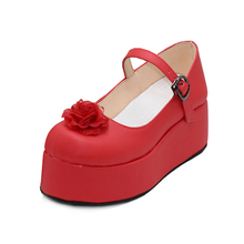 Cospaly TouHou Project/Embodiment of Scarlet Devil Flandre Womens Shoes Boots a4589