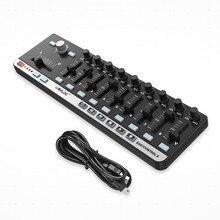 World Easy control. 9 портативный мини-usb 9 тонкий-Line control MIDI control ler