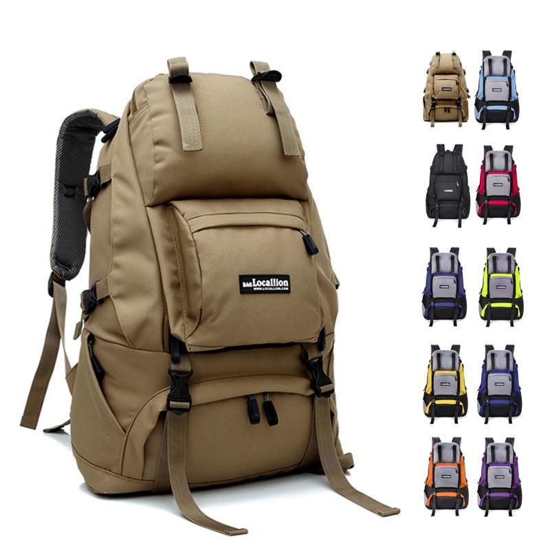 5 Color 40L Women & Men Nylon Waterproof Travel Bag Big Capacity Rucksacks bags 40l waterproof nylon women