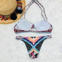 Bikini set push up Swimwear for women sexy two piece 2