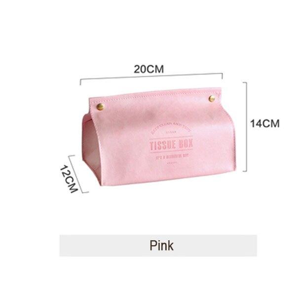 Креативная коробка для салфеток из искусственной кожи, мягкая складная подставка для салфеток, чехол для салфеток с буквенным принтом, держатель для бумаги для дома, кухни, коробка для хранения - Цвет: Style 5