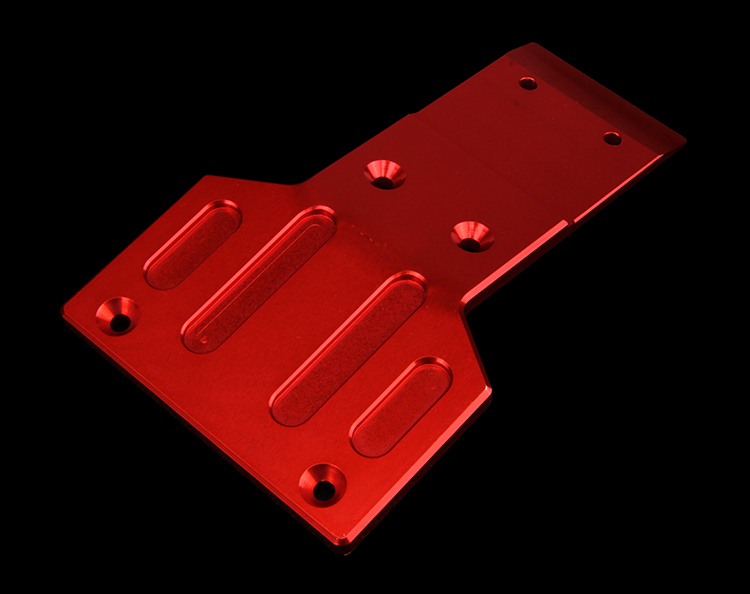 baja alloy Under the protection board elevation baseboard angle chassis base bottom board skid plate for1/5 HPI baja 5b KM ROVAN