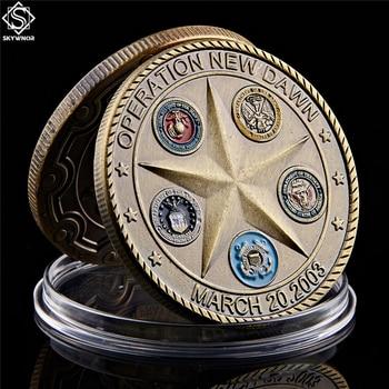 2003 Operation New Dawn Saint George Commemorative Challenge Coin Collection Souvenir saint michael the archangel commemorative challenge coins collection token art