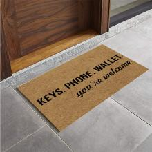 Doormat Phone Wallet You're Welcome Funny Door Mat Entrance Floor Mat Indoor Outdoor Decorative Doormat Non-slip Rubber Backing правдина наталия борисовна календарь моей жизни 2005 год