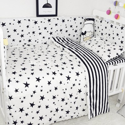 Baby crib bedding set baby 3 pcs/set 100% cotton duvet cover baby bedding Indian panda Pine crown Pattern for newborn boys girls накладка на задний бампер с загибом mercedes klass ml w164 2005 2011 carbon