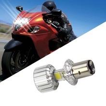 Dongzhen BA20d COB мотоцикл головного света Фары для автомобиля Электромобиль супер яркий шарик лампы Moto Интимные аксессуары dc9-100v 1 шт.