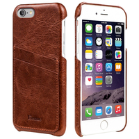 Benuo For IPhone 7 Case Genuine Leather Soft Cover 2 Card Slots Ultra Slim Leather Case