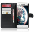 Cyboris Fundas cover For Lenovo VIBE S1 Lite case flip case Lichee Holster PU Leather with card slot holders stand function
