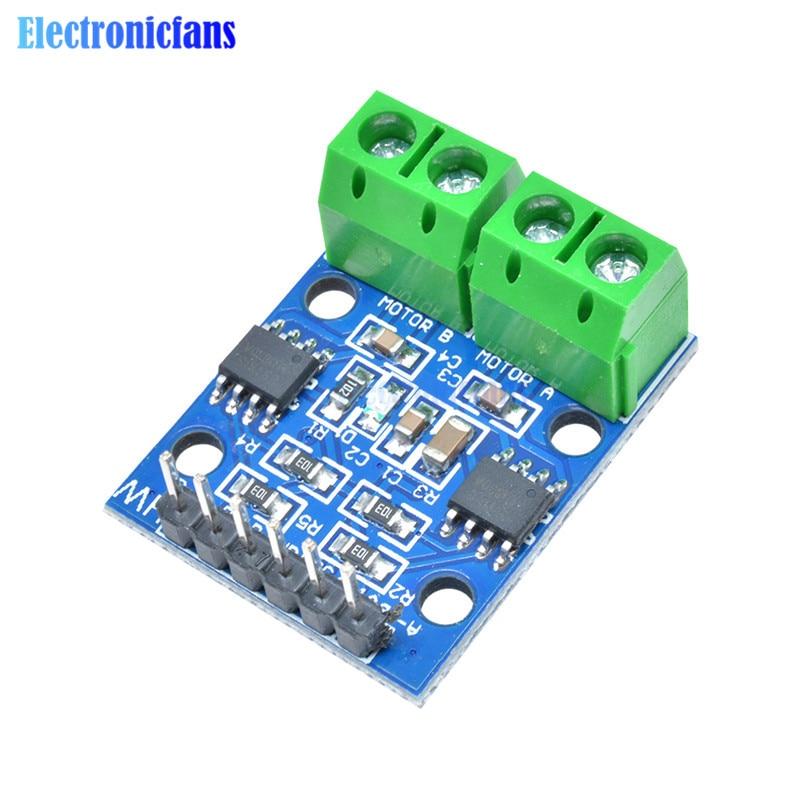 L9110S H-brücke Stepper Motor Dual DC Schrittmotor Treiber Controller Board Modul L9110S L9110 Für Arduino