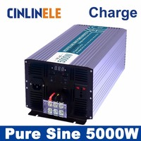 Universal Inverter UPS Charger 5000W Pure Sine Wave Inverter CLP5000A DC 12V 24V 48V To