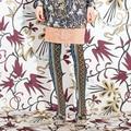 Качество мода старинные многоцветной коробка национальной тенденция бархатные колготки чулки женщины девушки женщины колготки