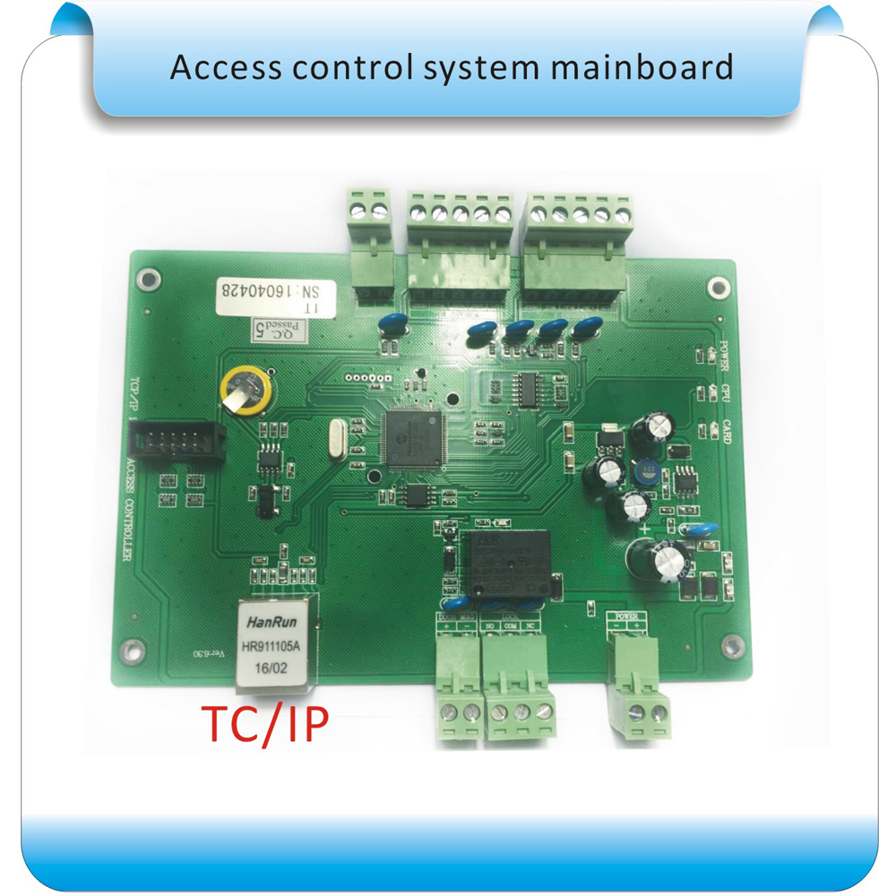 Free shipping 125KHZ RFID alone door Access Control systems for alone door Access Control Panel +free software