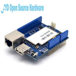Image 2 - 1pcs Yun Scudo V1.6 Linux WiFi Ethernet USB Progetto per arduino
