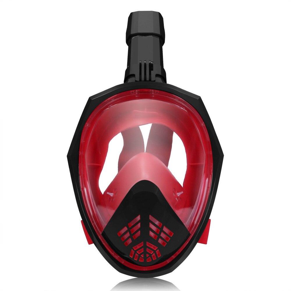 YaHey 2018 masque de plongée plein visage masque sous-marin ensemble sous-marin Buceo Anti-buée masques de natation plongée en apnée pour plongée pour caméra GoPro - 6