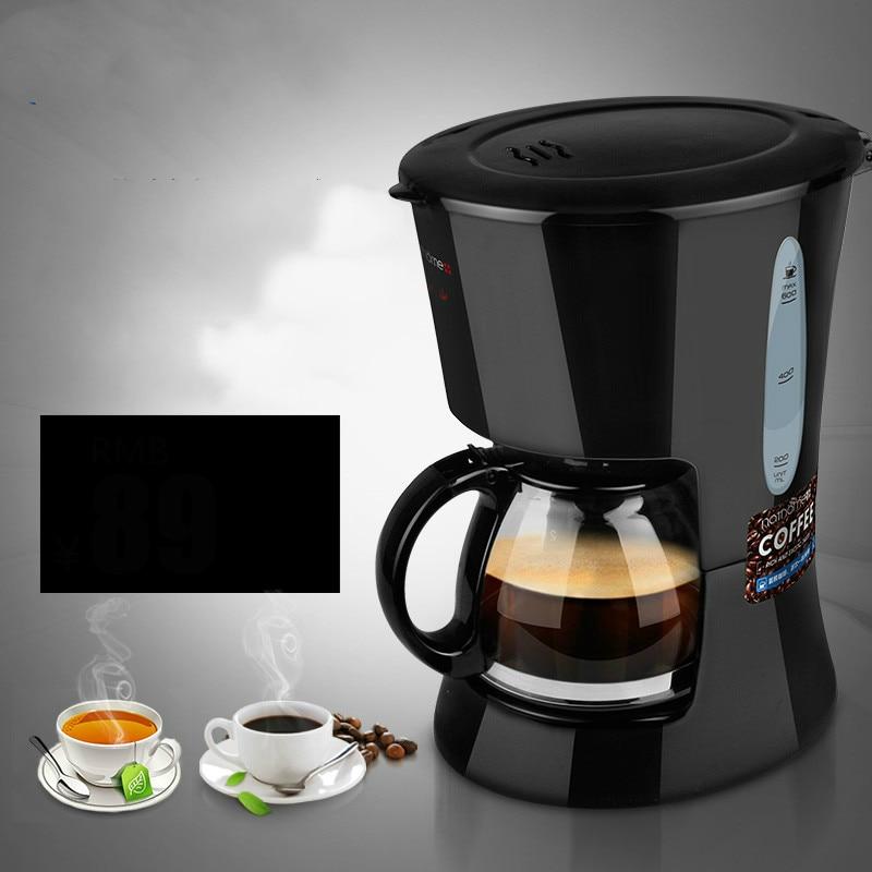 Drip Coffee Maker An insulated coffee pot home automatic machine Semi-Automatic italy espresso coffee machine semi automatic maker cup warming plate kitchen