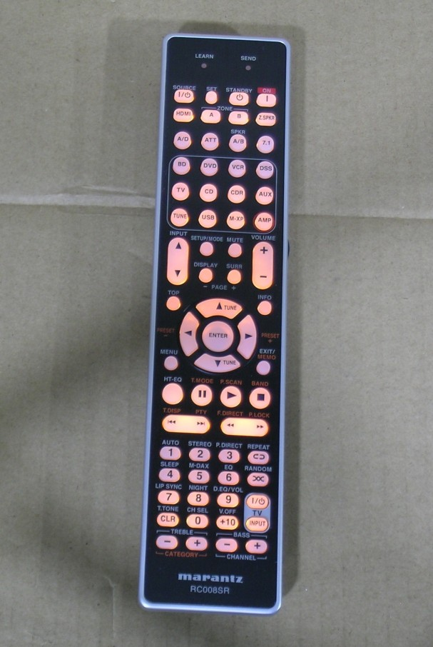 V Brand new Original remote control REPLACEMENT RC008SR For Marantz borne power amplifier remote control цена