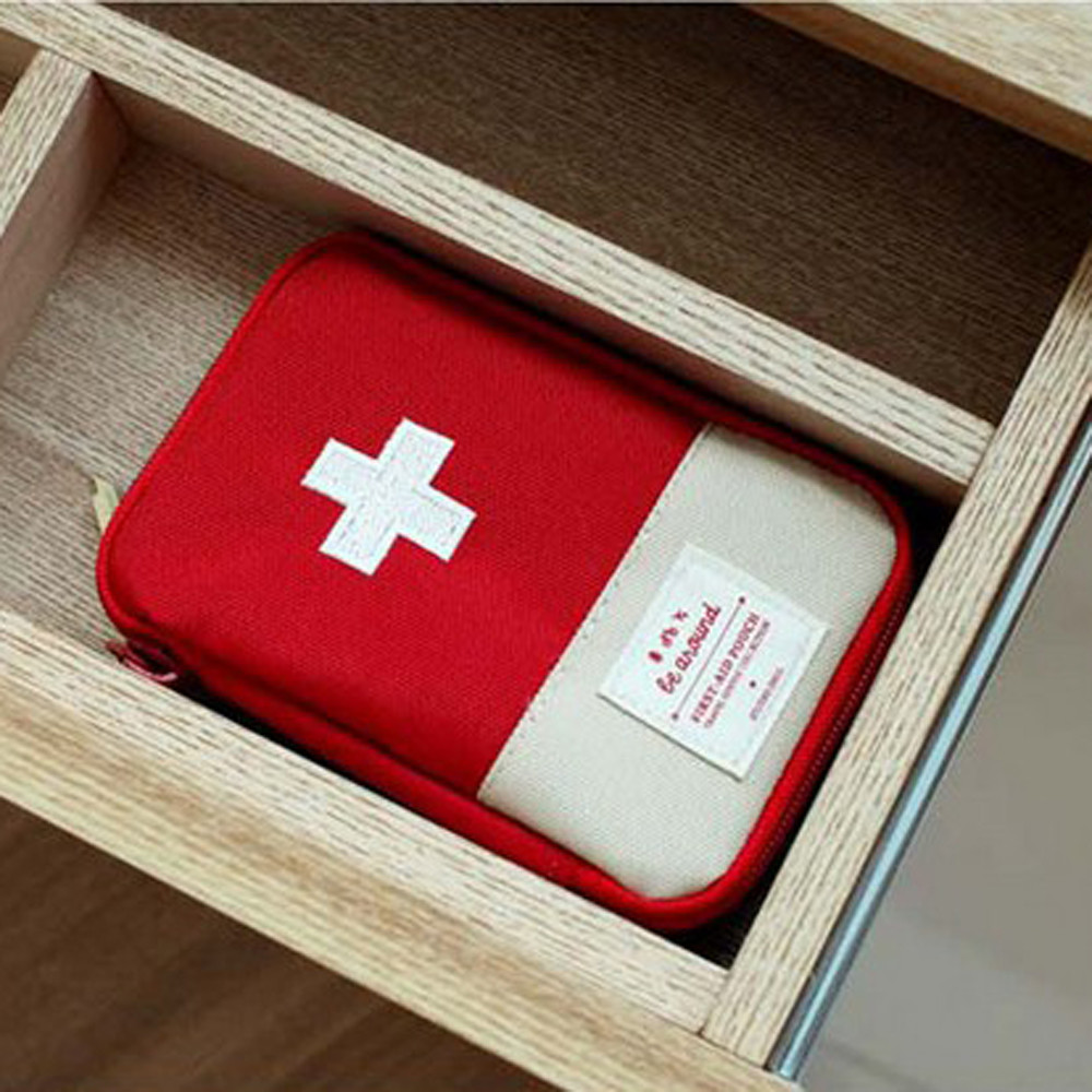 First-Aid-Kit Medical-Bag Emergency-Survival-Kit Outdoor Small Home Car Travel Mini