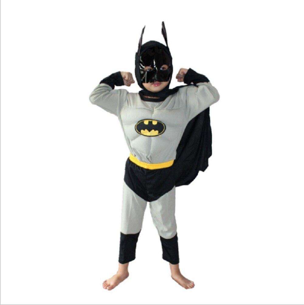 5 ...  sc 1 st  AliExpress.com & Batman Muscle Costume For Kids Halloween Costume Boy Role Play Comic ...