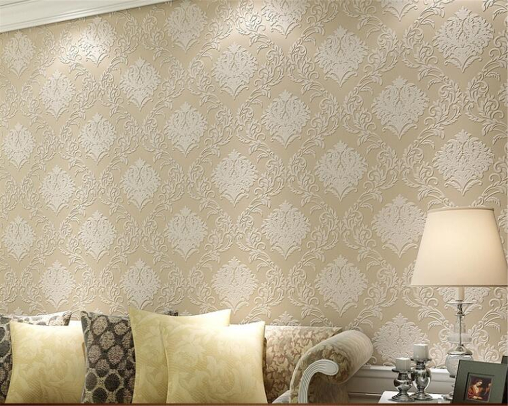 beibehang wallpaper Simple European style three-dimensional relief entrance bedroom living room 3d wallpaper papel de parede papel de parede european style simple