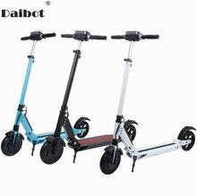 Daibot электрический самокат для взрослых два колеса Электрический самокатов 8 дюймов 36 В двойная подвеска складной электрический скейтборд скутер