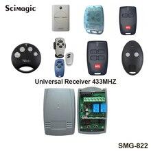 Pcs 433 mhz rolling code receptor para agradável smilo 1 doorhan pujol nova mhous faac bft controle remoto universal receptor