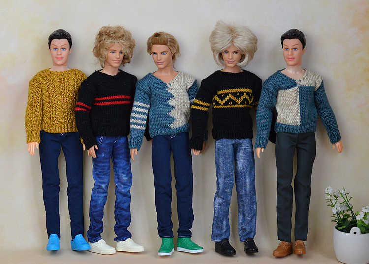 Putera Pakaian Uniform Pakaian Untuk Lelaki Lelaki Ken Doll Hadiah Terbaik