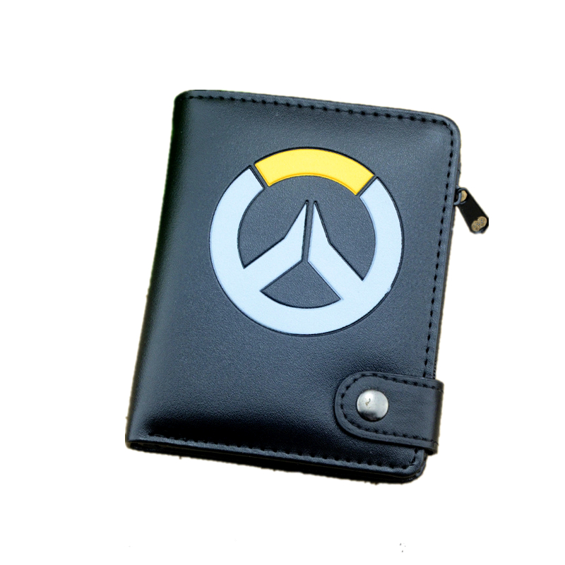 new black wallets the overwatch game Reaper Genji Tracer wallets hasp overwatch man purse card holder