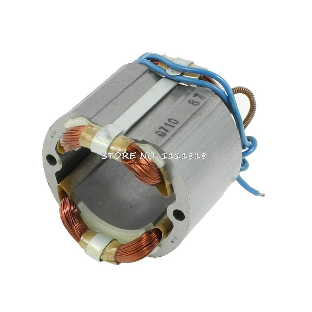 цена на AC220V Copper 42mm Rotor Core Motor Stator for Makita 9218PB Electric Hammer