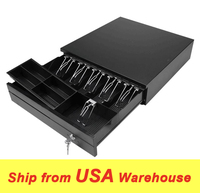 Cash Drawer POS Cash Moeny Drawer RJ11 cable connect to Thermal Printer