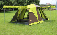 Four door with snow skirt is more than 3 to 4 people camping tent camping double tents Outdoor tenAutomatic camping outdoor tent