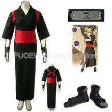Hot NarutoTemari Cosplay Costume Halloween Costume Full Set hot naruto sai cosplay costume halloween costume full set