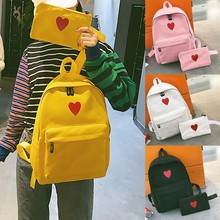 75f75a69b827 2018 New Arrival Backpacks Canvas Girl Bag Campus Package Daughter Package  Large Capacity Travel Bag High