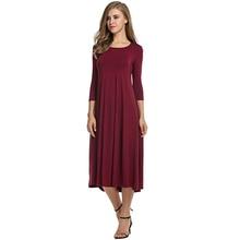 Women's Linen Short Summer Dress