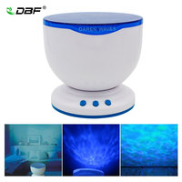 DBF Multicolor Romantic Aurora Master LED Light Ocean Wave Projector Lamp With Mini Portable Built