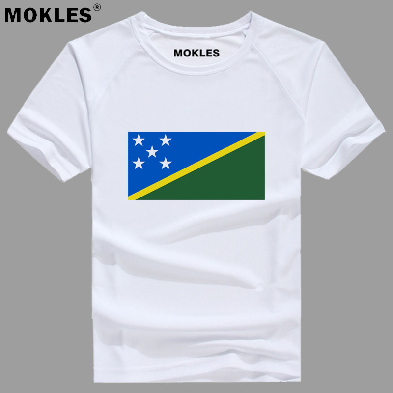 SOLOMON ISLAND t shirt diy free custom made name number slb T-Shirt nation flag sb country college print photo text logo clothes