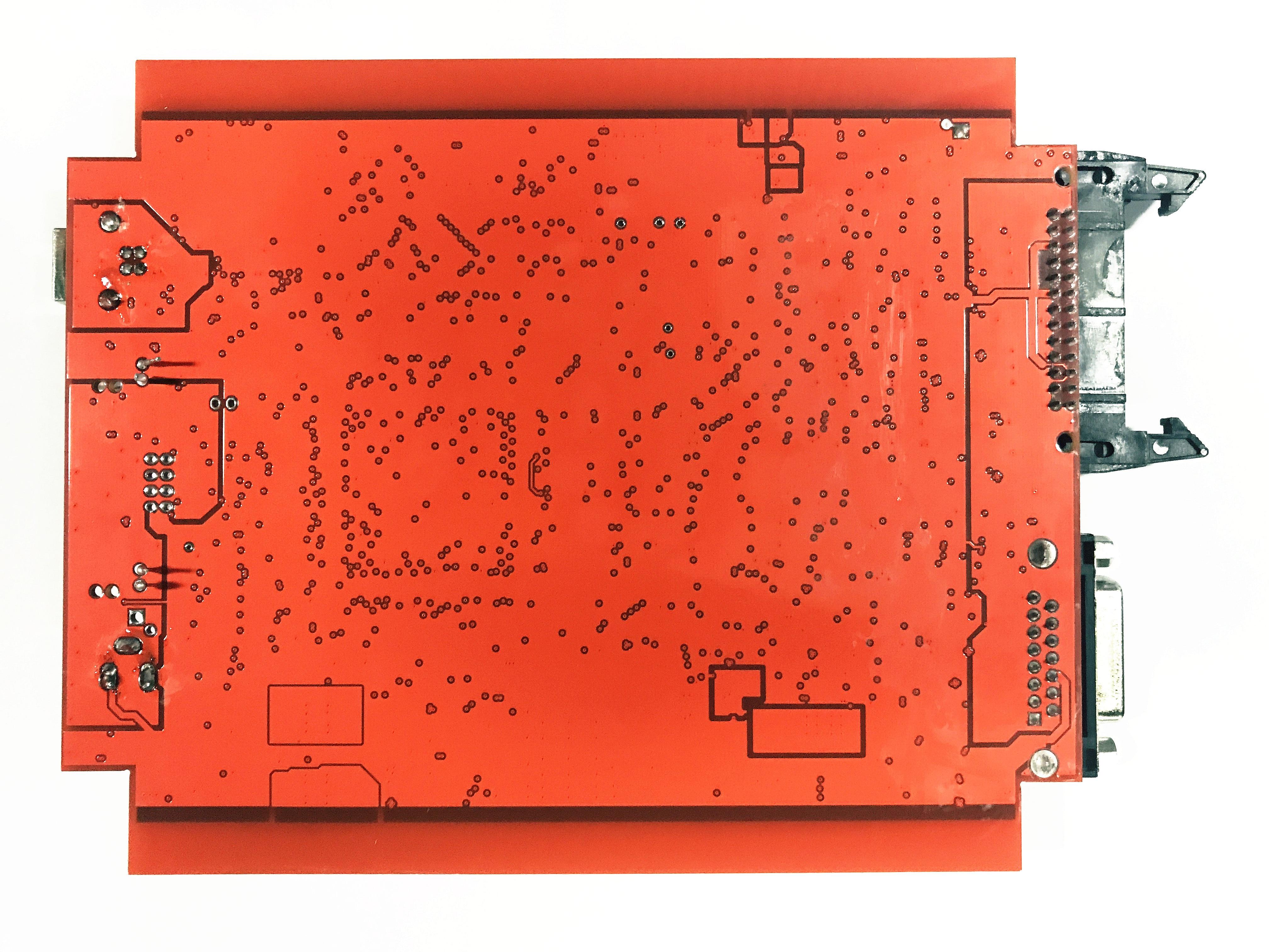 Ue czerwone tytanowe ecm KTAG V2.25 V7.020 4 LED Online wersja główna ECU OBD2 Manager samochód/ciężarówka programista najlepsza jakość