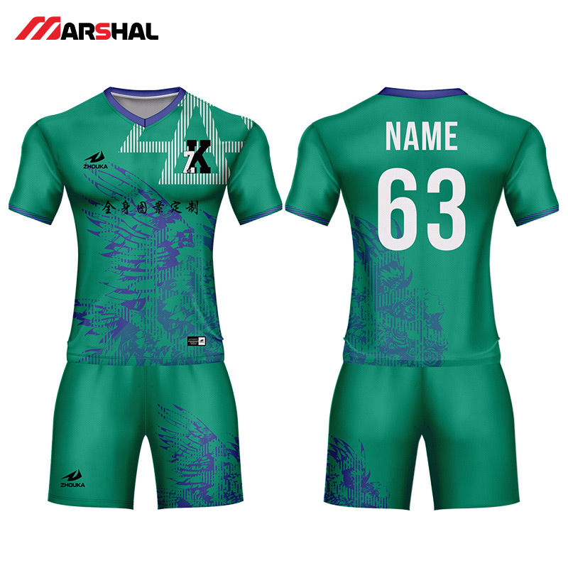 c2605fbec Customized team soccer uniforms with numbers custom design plain football  jersey kits for sale-in Soccer Sets from Sports   Entertainment on  Aliexpress.com ...