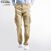 Summer 2017 Tactical War Game Cargo Pants Mens Silm Casual Pants Mens Trousers Army Military Active