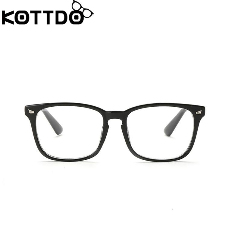KOTTDO Mode Retro Lezen Brillen Mannen Vrouwen Merk Designer Bril Brilmontuur Optische Computer Brillen Oculos