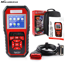 MALUOKASA OBD2 ODB 2 Automotive Scanner KW850 Multi-languages Full OBDII Function Auto Diagnostic Tool LCD Screen Scanner
