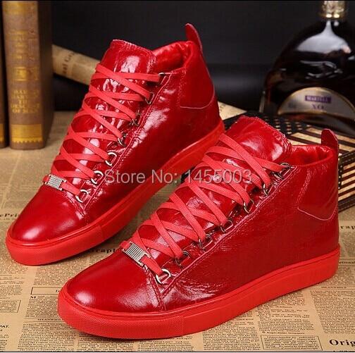 8248b9d8c58 botas rojas de cuero