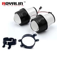 ROYALIN Fog Light Lens For Toyota Corolla Prado Camry Yaris Levin 2 5 Full Metal Bi