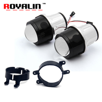 ROYALIN Fog Light Lens For Toyota Corolla Prado Camry Yaris Levin 2 5 Full Metal Bi